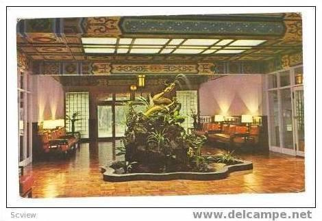 Golden Dragon Lobby, Grand Hotel, Taipei, Taiwan, PU 60s