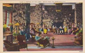 A Portion Of The Lobby Grove Park Inn Asheville North Carolina