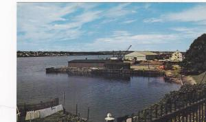 The Harbour at Sydney,  Cape Breton,  Nova Scotia,  Canada, 40-60s
