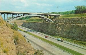 Ohio~I saw this: The Beautiful Ohio Turnpike~1950s PC