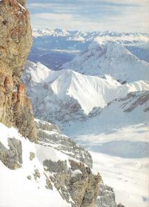 Inntal und Zillertaleralpen Zugspitze gegen Hohe Munde Mountain