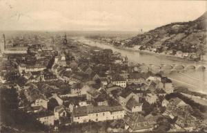 Germany Heidelberg von der Terasse 01.80