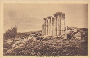 Italy Girgenti Tempio di Ercole