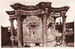 Baalbeck Baalbek Lebanon Venus Temple Real Photo Postcard