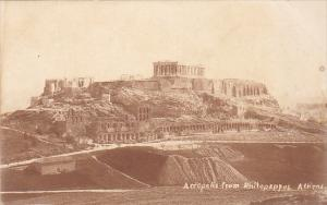 Greece Acropolis From Philopappos