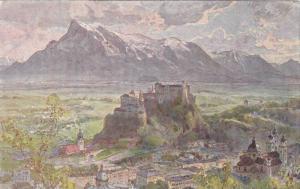 Compton , Saltzburg gegen Untersberg , Austria , 00-10s