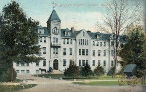 LONDON , Ontario , Canada , 1910 ; St Joseph's Hospital V-3