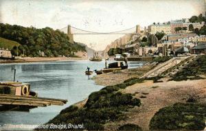 UK - England, Bristol. Clifton Suspension Bridge