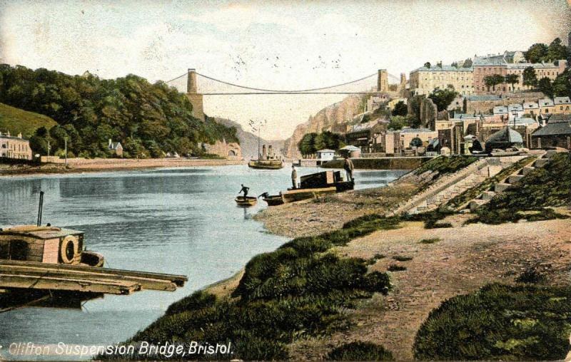 UK - England, Bristol. Clifton Suspension Bridge