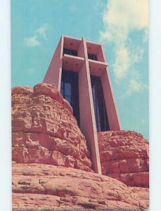 Unused Pre-1980 CHURCH SCENE Sedona - Near Flagstaff Arizona AZ A7536