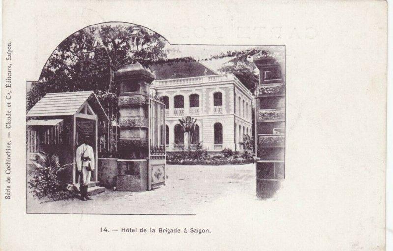 VIETNAM, PU-1903; Hotel de la Brigade a Saigon