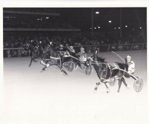 LIBERTY BELL PARK, Harness Horse Race, BIEN BEAU wins, 1980