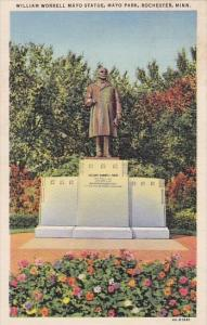 William Worrell Mayo Statue Mayo Park Rochester Minnesota
