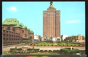 USA Postcard Park Place in Atlantic City New Jersey