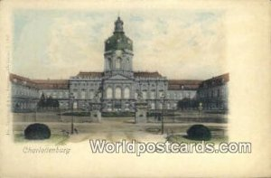 Das Schloss Charlottenburg Germany Unused