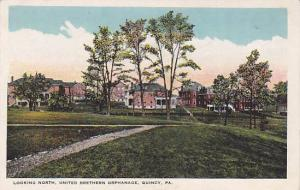 Looking North, United Brethern Orphanage, Quincy, Pennsylvania, 1910-1920s