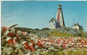 Canada, Yarmouth Lighthouse, Nova Scotia, 1959 used Postcard