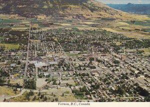 Canada Aerial View Vernon British Columbia