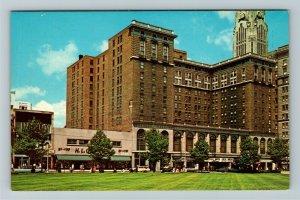 Columbus OH- Ohio, Neil House Motor Hotel, Advertising, Chrome Postcard