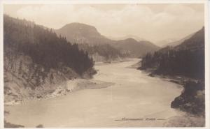 BRITISH COLUMBIA, Canada, 1932; Kickinghorse River