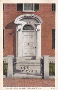 Abam Wendell Doorway Portsmouth New Hampshire