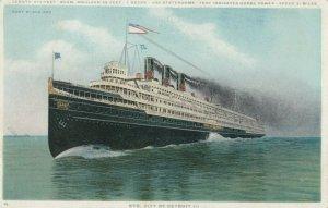 Steamer City of Detroit III , 00-10s