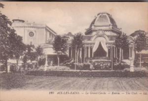 France Aix les Bains Le Grand Cercle Entree The Club