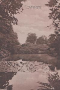 The Lily Pond Alton Towers Staffordshire Antique Postcard