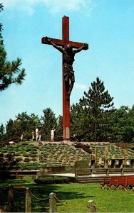 Michigan Indian River Catholic Shrine Largest Crucifix In The World
