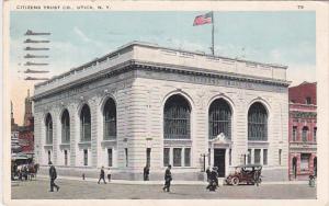 UTICA, New York, PU-1943; Citizens Trust Co.