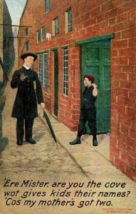 Humor - 'Ere mister, are you the cove...(Parish Priest)