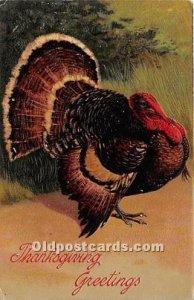 Artist PFB Thanksgiving Greetings 1908