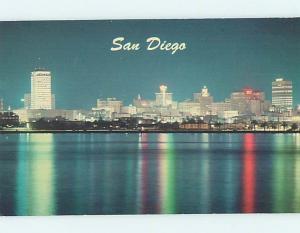 Unused Pre-1980 PANORAMIC VIEW San Diego California CA hp3461
