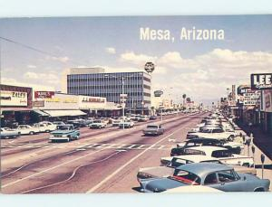 Pre-1980 STREET SCENE Mesa - Near Phoenix Arizona AZ W1224