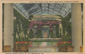 WILMINGTON , Delaware, 30-40s , Longwood Gardens Display Hall