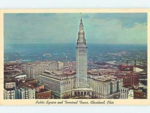 Pre-1980 PANORAMIC VIEW Cleveland Ohio OH hp4298