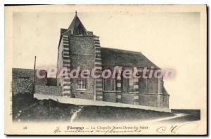 Old Postcard Fecamp La Chapelle Notre Dame Du Hi