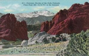 Colorado Garden Of The Gods Gateway