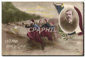 Old Postcard The Bugle Sounds The Charge Paul Deroulede Army