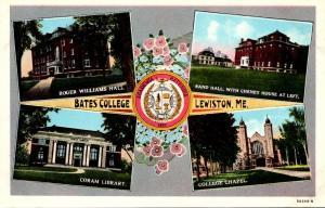 Maine Lewiston Bates College Multi View