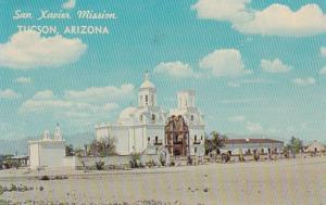 Arizona Tucson San Xavier Mission 1966