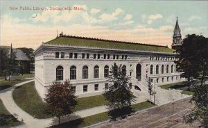 Massachustetts Springfield New Public Library