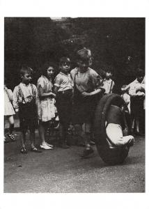 Postcard Children's street games, Wapping, London, 1933 Reproduction Card #28