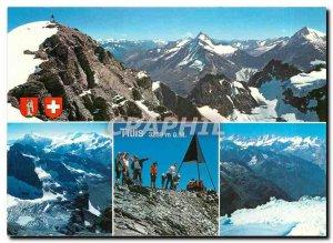 Postcard Modern Switzerland Titlis Gipfel