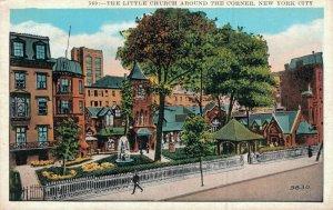 USA The Little Church Around the Corner New York City 05.45