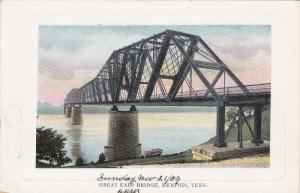 Great Eads Bridge, MEMPHIS, Tennessee, 1910-1920s