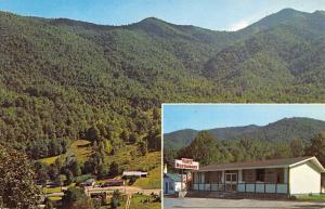 Maggie Valley North Carolina Plotts Restaurant Multiview Vintage Postcard K55069