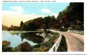Massachusetts West Becket Jacob's Ladder Roadway Greenwater Pond