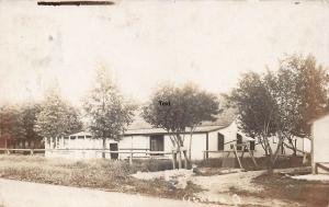 GENEVA, OHIO DANCE CLUB-1908 RPPC REAL PHOTO POSTCARD