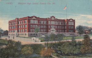 KANSAS CITY, Missouri, PU-1913; Westport High School